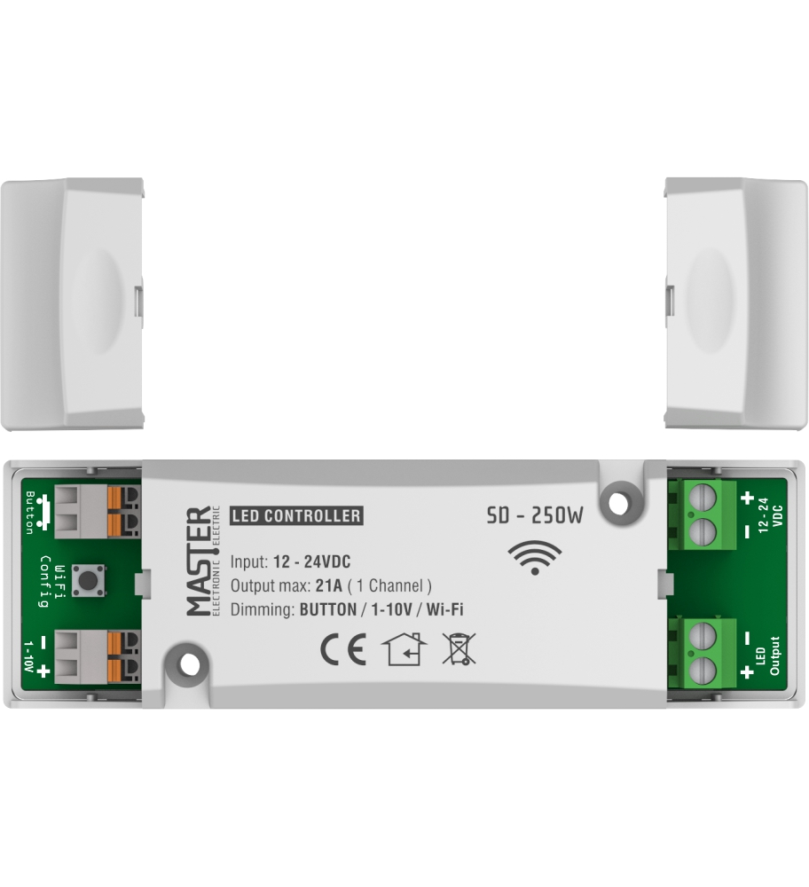 SD-250W Smart LED Controller WiFI 12-24V
